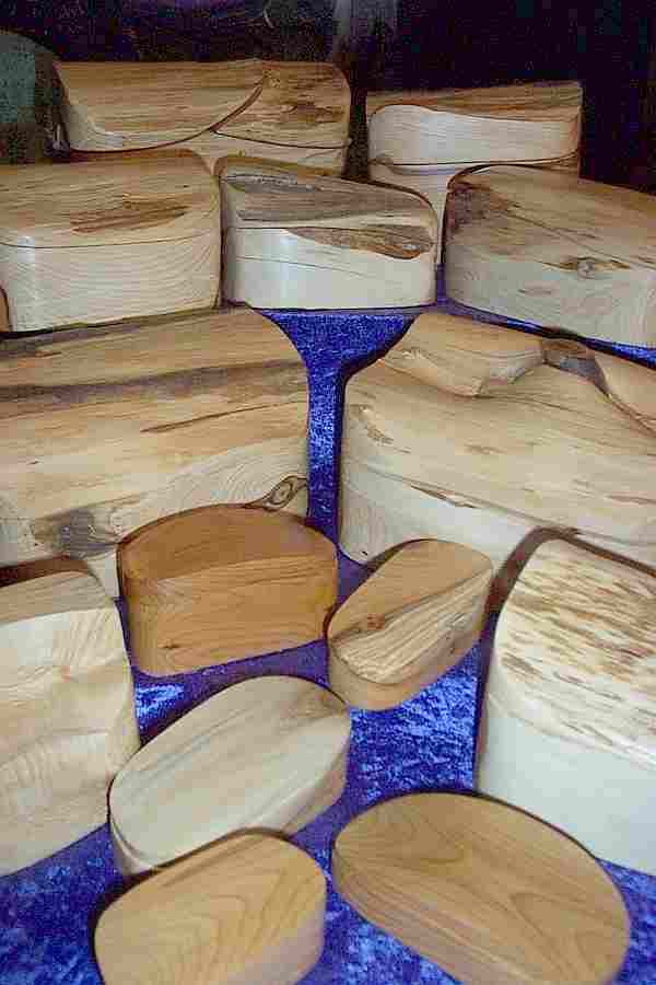 YEW & OAK BOXES