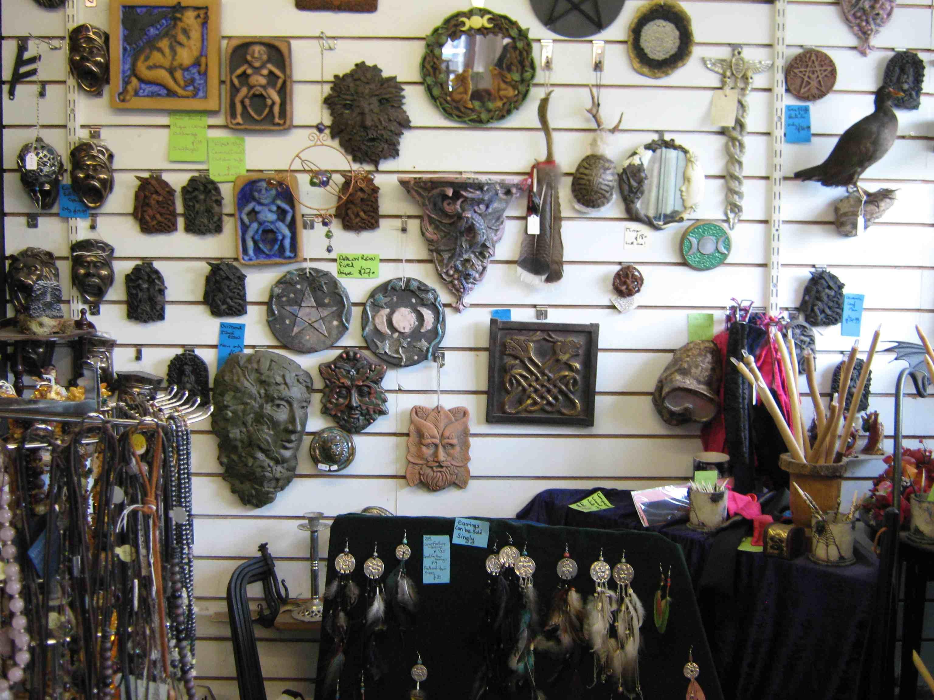 Witchcraft Shop Glastonbury