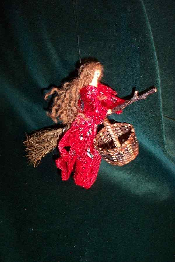 RED WITCH POPPET