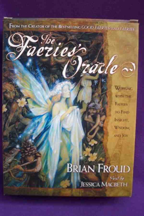 FAERIE ORACLE DECK - BOXED