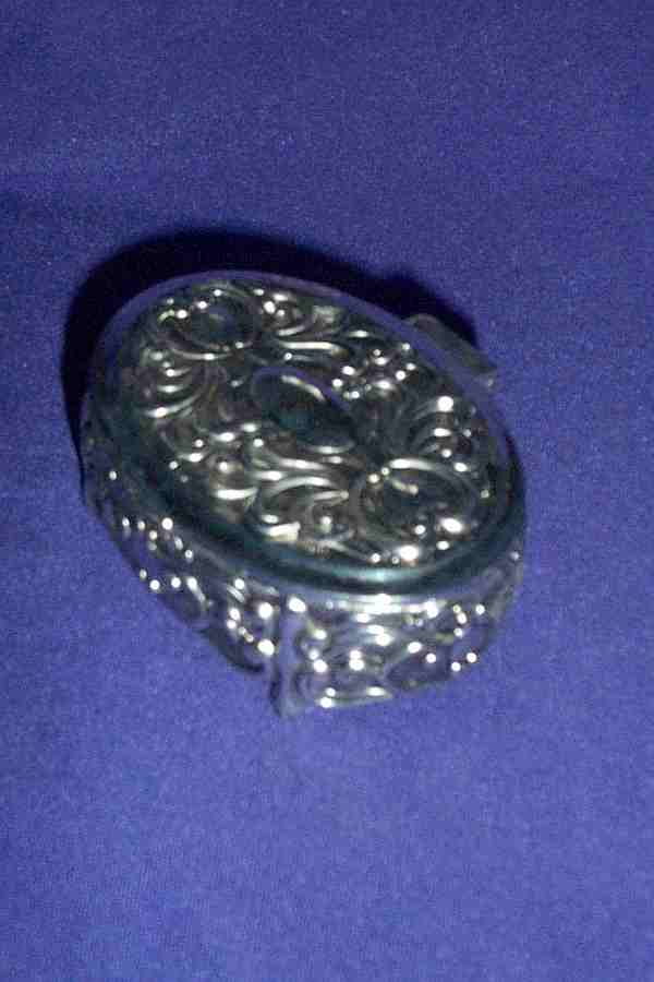SILVER PLATE CELTIC PATTERN - SMALL