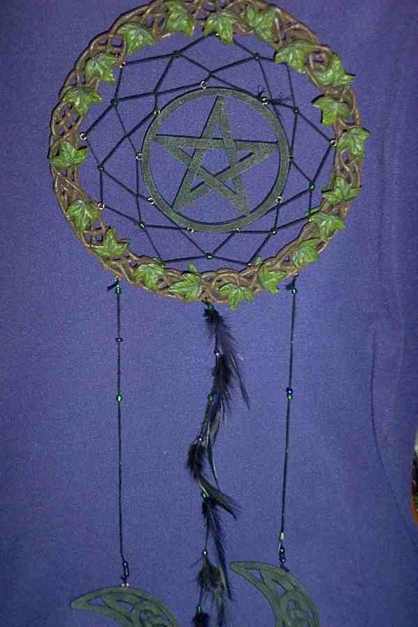 GC - IVY DREAMCATCHER - 8 INCH