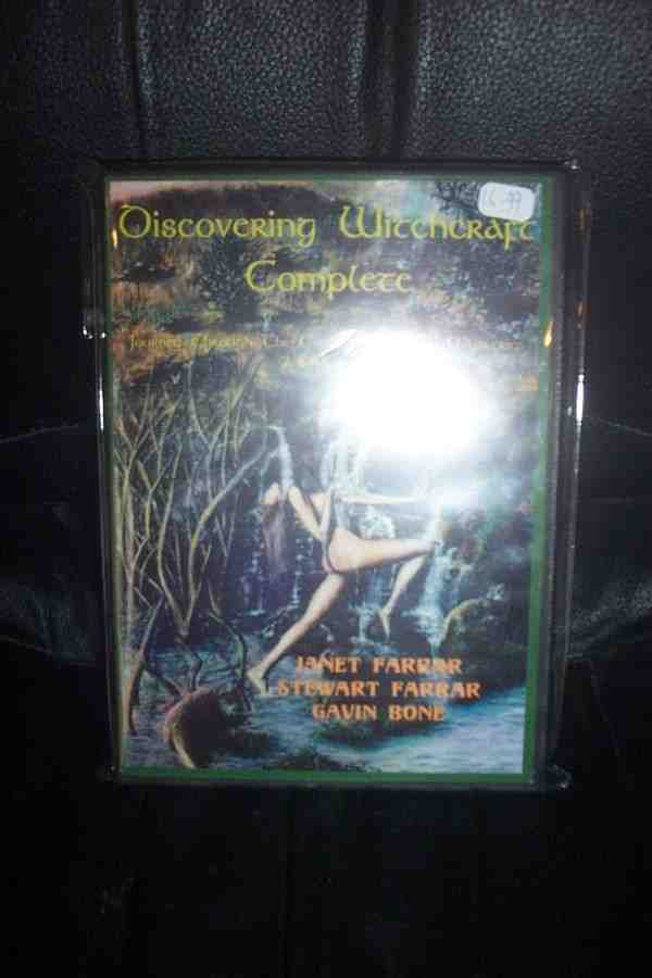 DISCOVERING WITCHCRAFT COMPLETE - EUROPEAN DVD