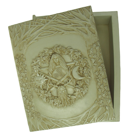 WILDWOODS GRIMOIRE BOX - IVORY