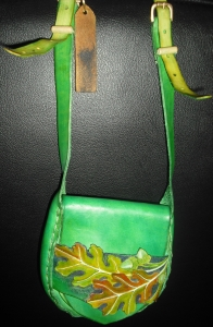 OAK LEAF AND ACORN SHOULDER BAG